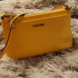 Yellow Calvin Klein Crossbody